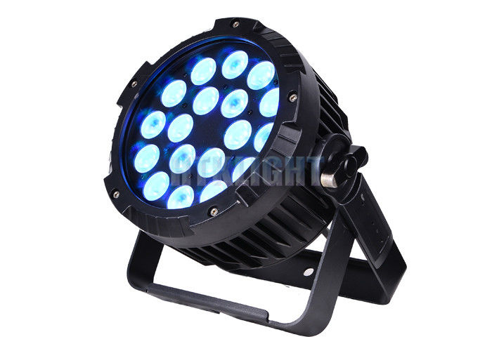 IP65 60Hz Stage Lighting Par Cans With 45 Degree Beam Angle 90 Lm/W